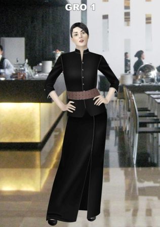 Call 0811-190-500 or 0815-8390-500 for Consultation BAJU PAKAIAN SERAGAM RESTAURANT TERAZZA BIANCO - THE AKMANI HOTEL