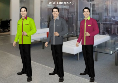 Call 0811-190-500 or 0815-8390-500 for Consultation SERAGAM KANTOR ASURANSI ACE LIFE